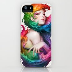 Angel of Colors iPhone (5, 5s) Slim Case