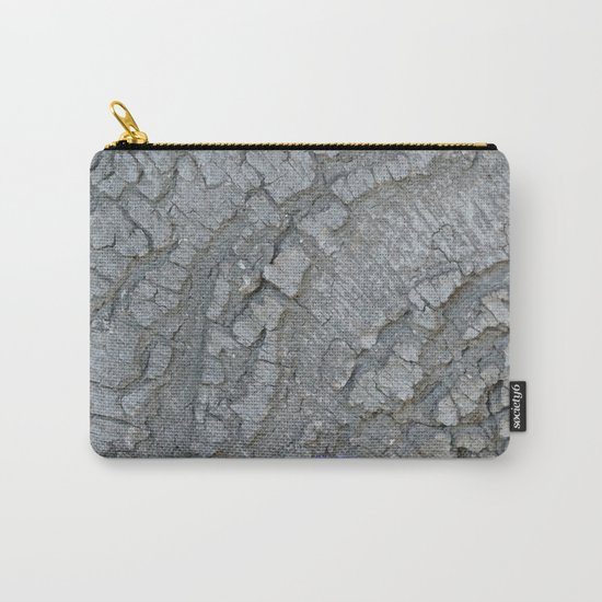 TEXTURES -- California Bay Tree Bark Carry-All Pouch