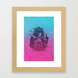 Chihiro's Adventure Framed Art Print