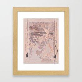 Fly, Monkey Boy, Fly Framed Art Print