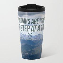 One Step At a Time Travel Mug