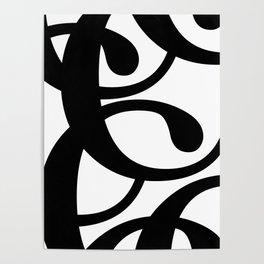 Hidden Letters. Baskerville C Poster