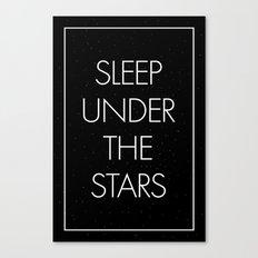 Sleep Under The Stars Canvas Print
