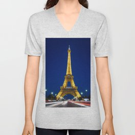 Paris 02 Unisex V-Neck