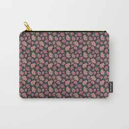 roses on indigo background, watercolour Carry-All Pouch