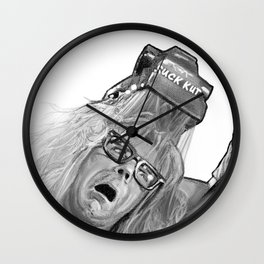 Suck Kut Wall Clock
