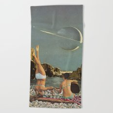 Serenade to Saturn Beach Towel