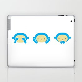 3 Wise Monkeys Laptop & iPad Skin