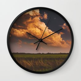 Touch The Sky Wall Clock