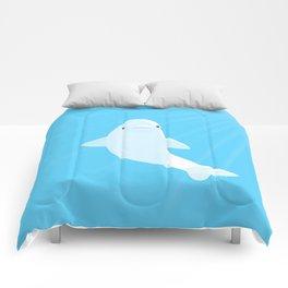 Beluga whale Comforters