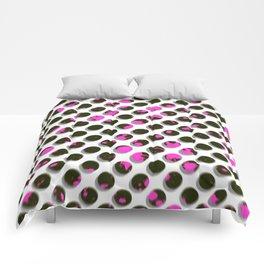 Drunk Dots Comforters