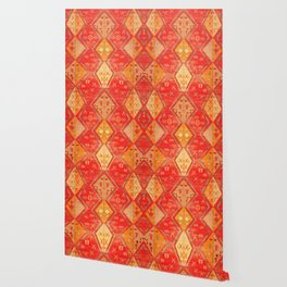 N254 - Oriental Heritage Antique Traditional Tropical Color Moroccan Style Wallpaper