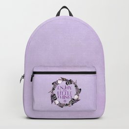 Enjoy The Little Things Typography Backpack