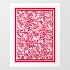 Sweet Tea Reversed Art Print