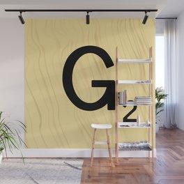 Scrabble G Decor, Scrabble Art, Large Scrabble Prints, Word Art, Accessories, Apparel, Home Decor Wall Mural