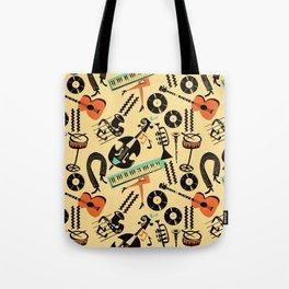 Jazz Rhythm (positive) Tote Bag