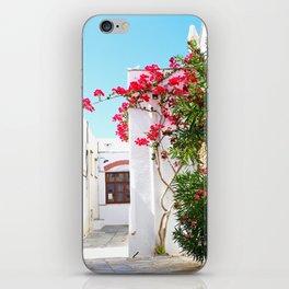 Pyrgos flowers iPhone Skin
