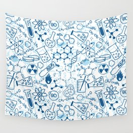 School chemical pattern #2 Wall Tapestry