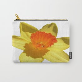Daffodil Emblem Isolated On White Carry-All Pouch