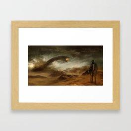 Sands of Arrakis Framed Art Print