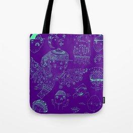 Space sketch Tote Bag