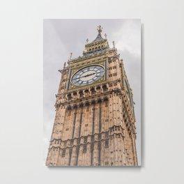 Big Ben, London, England Metal Print