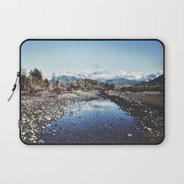 Nooksack River Bellingham Washington Laptop Sleeve