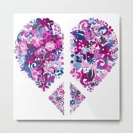 Love & Peace Metal Print