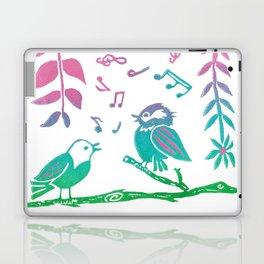The Littlest Birds Sing the Prettiest Songs Laptop & iPad Skin