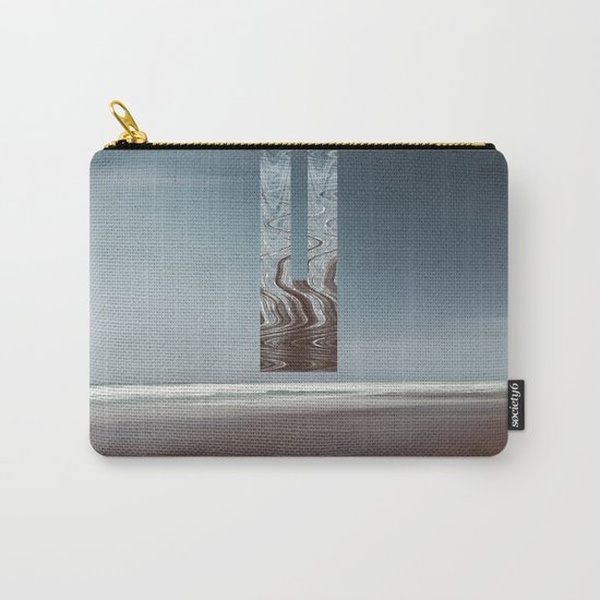 Minimal SeaScape Carry-All Pouch