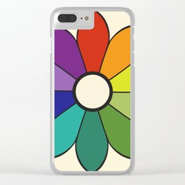 James Ward's Chromatic Circle 1903 (no background; interpretation) Clear iPhone Case