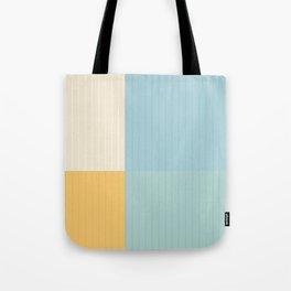 Color Block Lines III Tote Bag
