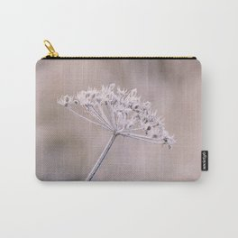 Pink Winter Parsley Still Life Carry-All Pouch