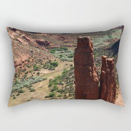 Spider Rock - Amazing Rockformation Rectangular Pillow