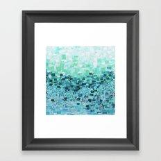 :: Sea Glass Compote :: Framed Art Print
