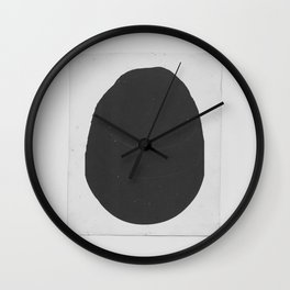 Ink Blob Wall Clock