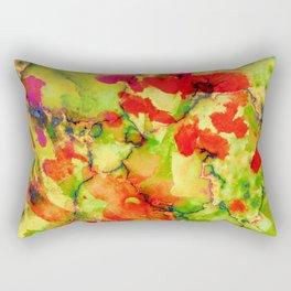 floral and textures Rectangular Pillow
