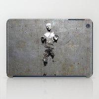 han solo iPad Cases featuring Han Solo Carbonite by Inara