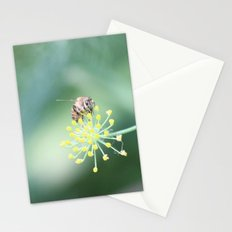 Bee and the fennel Stationery Cards