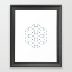 #283 Council – Geometry Daily Framed Art Print