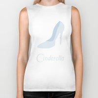 cinderella Biker Tanks featuring Cinderella by Citron Vert