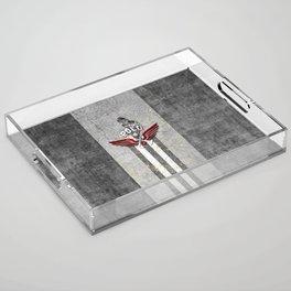 poloplayer grey Acrylic Tray