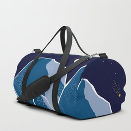Say goodnight to the mountains Duffle Bag