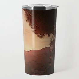 Sunset on ancient Rome Travel Mug