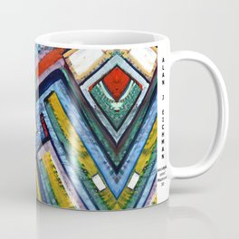 Alan J Eichman Abstract 0009 Coffee Mug