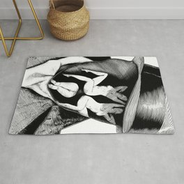 asc 747 - Le Rorschach (You are what you see) Rug