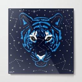 Star Tiger Metal Print