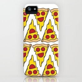Happy Pepperoni iPhone Case