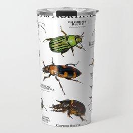 Beetles of North America Travel Mug