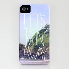 Let's Run Away: Cannon Beach, Oregon Slim Case iPhone (4, 4s)